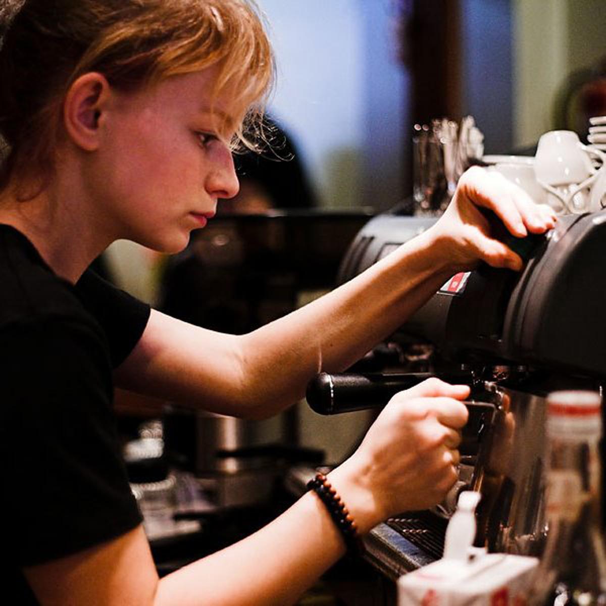 Barista Coffee In Rome, Italy